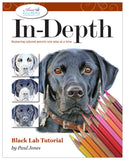 Black Lab: In-Depth Colored Pencil Tutorial