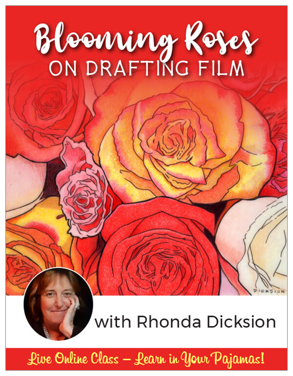 Blooming Roses on Film - Pajama Class with Rhonda Dicksion