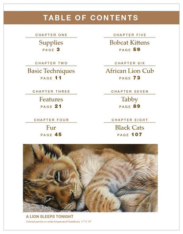 CP Cats: A Complete Guide to Wild & Domestic Cats in Colored Pencil
