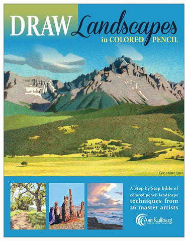 DRAW Landscapes in Colored Pencil