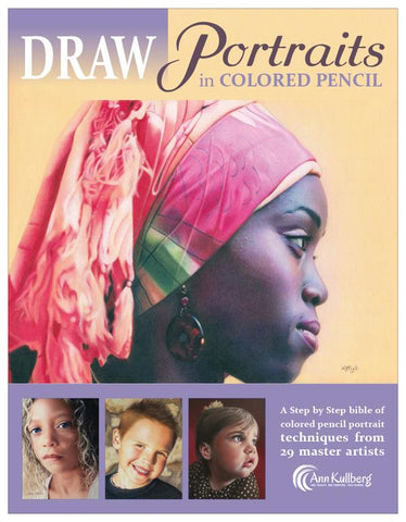 DRAW Portraits in Colored Pencil