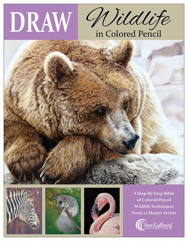 DRAW Wildlife in Colored Pencil