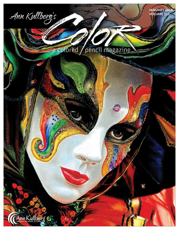 January 2018 - Ann Kullberg's COLOR Magazine - Instant Download