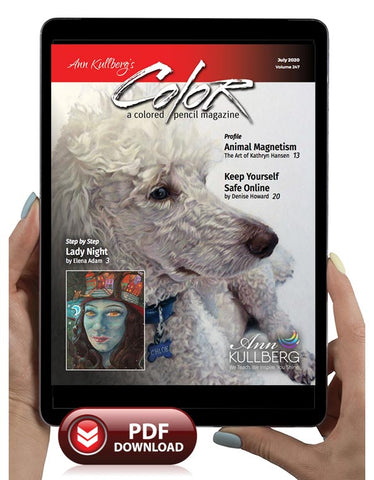 July 2020 - Ann Kullberg's COLOR Magazine - Instant Download