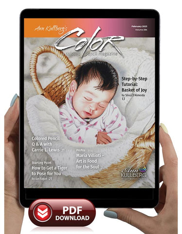 February 2021 - Ann Kullberg's COLOR Magazine - Instant Download