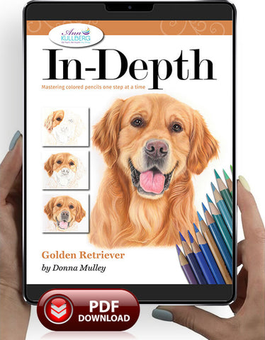 Golden Retriever: In-Depth Colored Pencil Tutorial