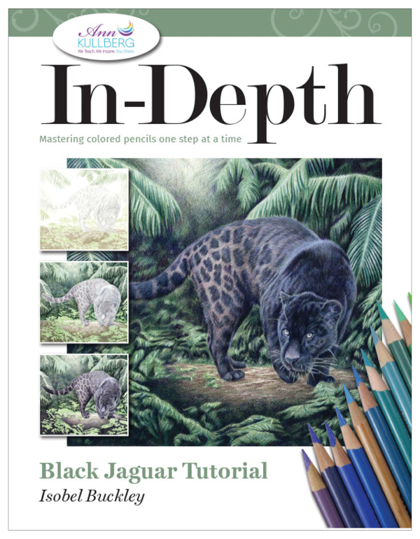 Black Jaguar: In-Depth Colored Pencil Tutorial