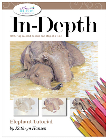Cuddling Elephants: In-Depth Colored Pencil Tutorial