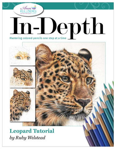 Leopard: In-Depth Colored Pencil Tutorial