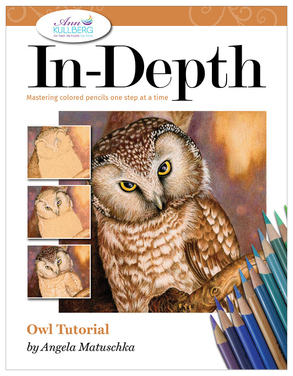 Owl: In-Depth Colored Pencil Tutorial
