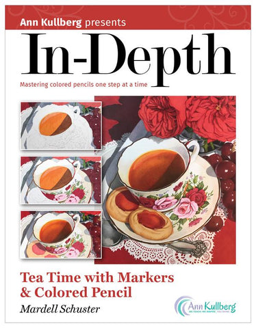 Tea Time with Markers & Colored Pencil: In-Depth Tutorial