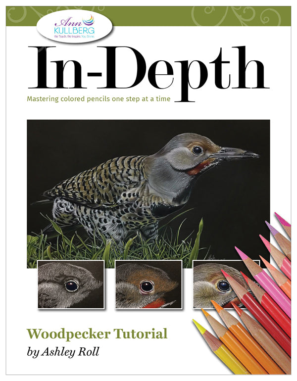 Woodpecker: In-Depth Colored Pencil Tutorial