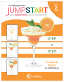 Jumpstart Level 2: Orangesicle Delight in Colored Pencil