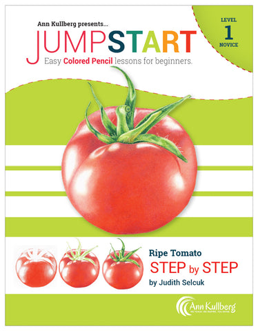 Jumpstart Level 1: Ripe Tomato in Colored Pencil
