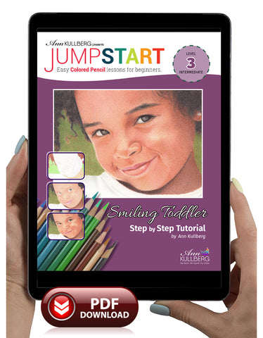 Jumpstart Level 3: Smiling Child Portrait