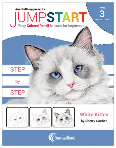 Jumpstart Level 3: White Kitten