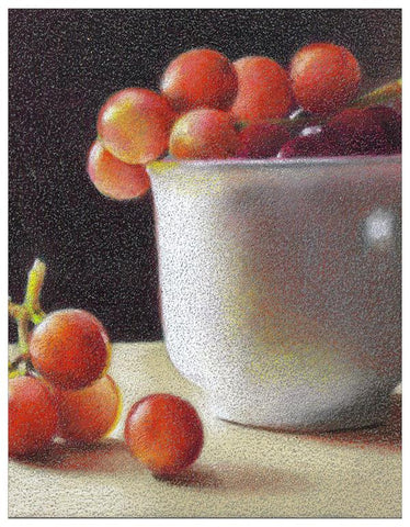 Radiant Grapes Colored Pencil Project Kit