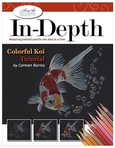 Colorful Koi: In-Depth Colored Pencil Tutorial