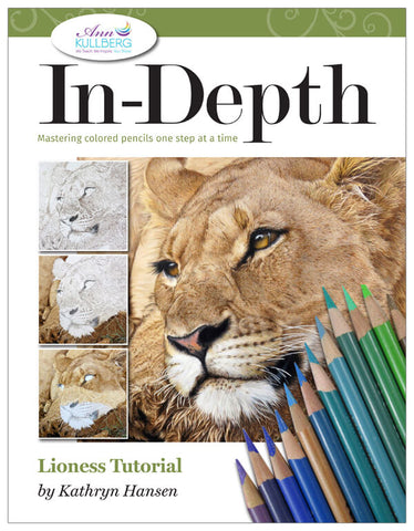Lioness: In-Depth Colored Pencil Tutorial
