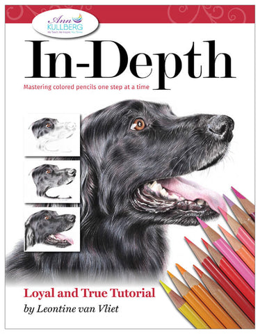 Loyal and True: In-Depth Colored Pencil Tutorial