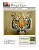 Mark Menendez: Bengal Tiger Colored Pencil Tutorial