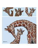 Mark Menendez: Giraffe Love Colored Pencil Tutorial
