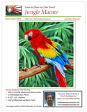 Mark Menendez: Jungle Macaw Colored Pencil Tutorial