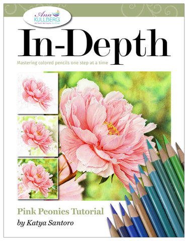 Pink Peonies: In-Depth Colored Pencil Tutorial