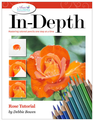 Rose: In-Depth Colored Pencil Tutorial