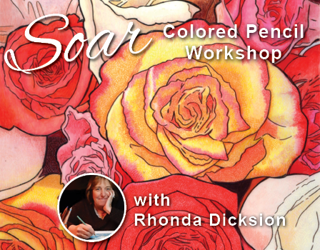 SOAR Workshop - Blooming Roses on Drafting Film - Bothell, WA