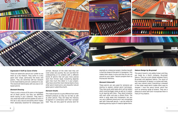 VIVID Colored Pencil - Discounted Paperback Book