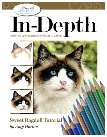 Sweet Ragdoll: In-Depth Colored Pencil Tutorial