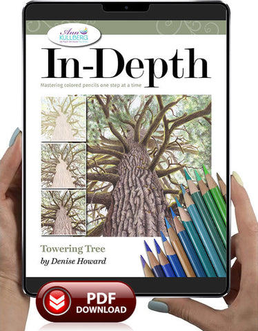 Towering Tree: In-Depth Colored Pencil Tutorial