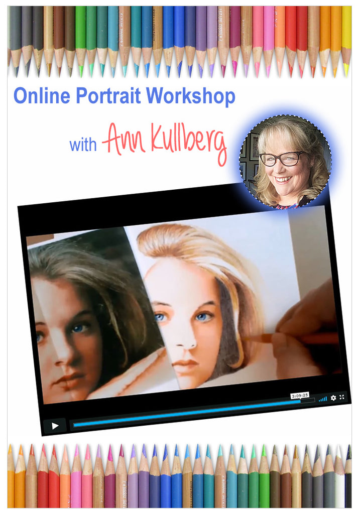 Colored Pencil Portraits - Online Workshop for Trilogy Art League