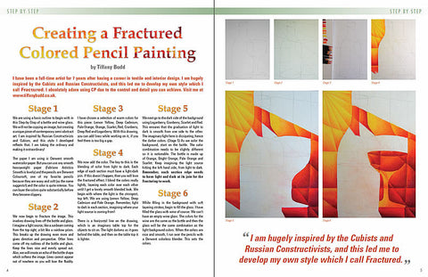 August 2014 - Ann Kullberg's Colored Pencil Magazine - Instant Download