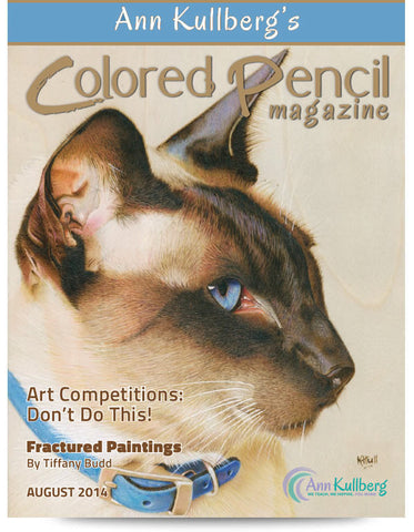 August 2014 - Ann Kullberg's Colored Pencil Magazine-Magazine-Ann Kullberg