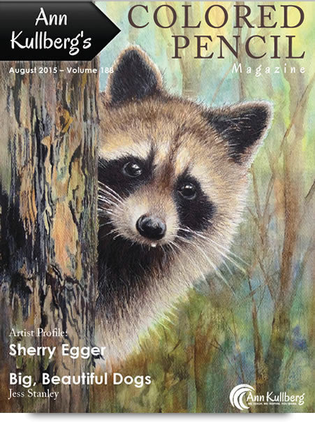 August 2015 - Ann Kullberg's Colored Pencil Magazine - Instant Download