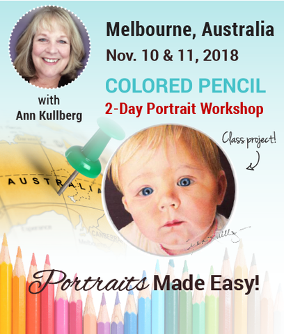 Melbourne, Australia Portrait Workshop Deposit- Pay in Full Now