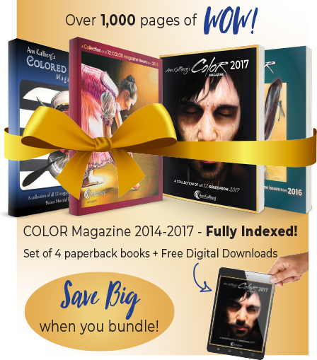 COLOR Magazine Collection Books: 2014-2017-Colored Pencil Books-Ann Kullberg