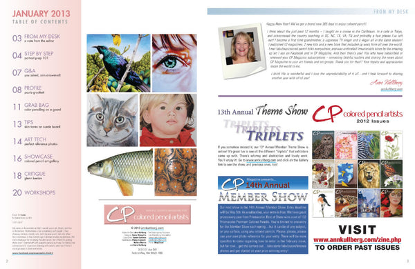 CP Magazine - January 2013 Digital Download-Magazine-Ann Kullberg