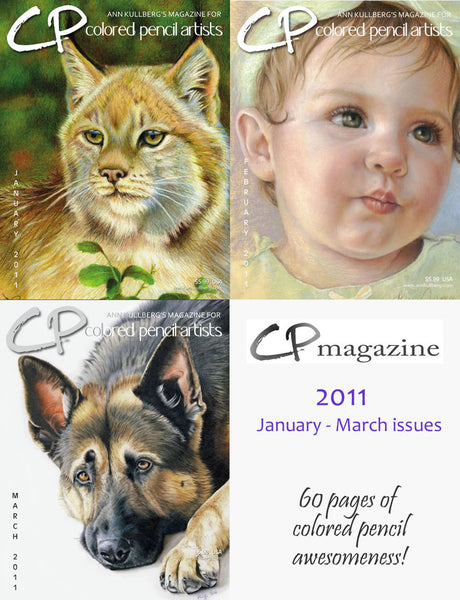 CP Magazine - January thru March 2011 Bundle-Magazine-Ann Kullberg
