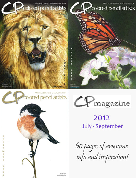 CP Magazine - July thru September 2012 Bundle-Magazine-Ann Kullberg