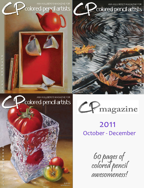 CP Magazine - October thru December 2011 Bundle-Magazine-Ann Kullberg