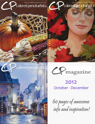 CP Magazine - October thru December 2012 Bundle-Magazine-Ann Kullberg