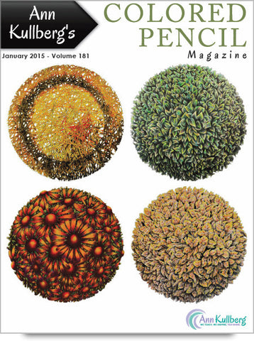 January 2015 - Ann Kullberg's Colored Pencil Magazine-Magazine-Ann Kullberg