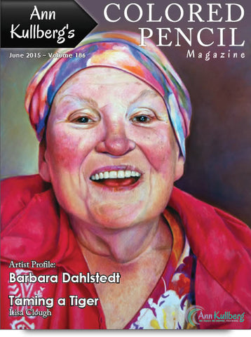 June 2015 - Ann Kullberg's Colored Pencil Magazine-Magazine-Ann Kullberg