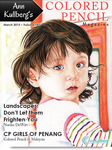 March 2015 - Ann Kullberg's Colored Pencil Magazine-Magazine-Ann Kullberg
