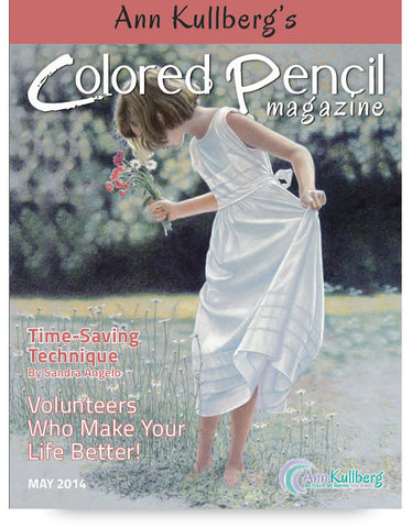 May 2014 - Ann Kullberg's Colored Pencil Magazine-Magazine-Ann Kullberg