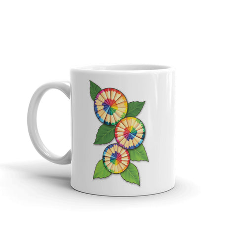 Colored Pencil Flowers Mug