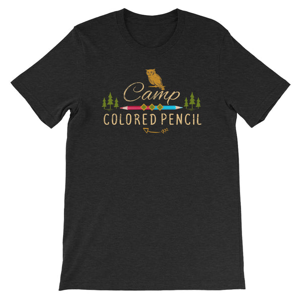Camp Colored Pencil Short-Sleeve Unisex T-Shirt